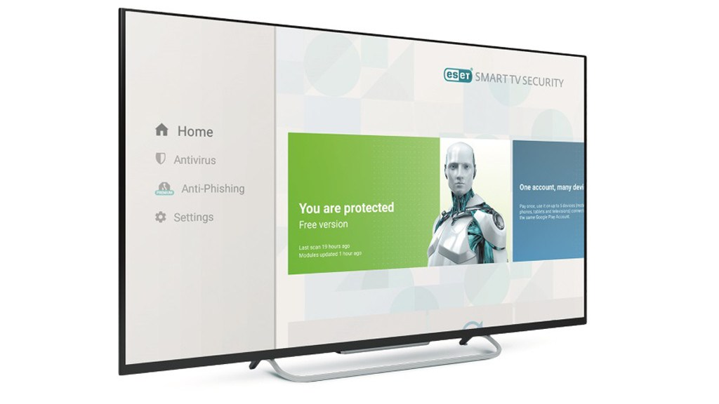 Antivirus Eset Smart TV Security